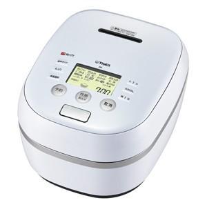 タイガー TIGER 土鍋圧力IH炊飯ジャー 5.5合炊き アーバンホワイト 炊きたて 炊飯器 JPH-A101-WE|bic-shop