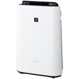 シャープ SHARP PM2.5対応 加湿空気清浄機 空清23畳まで/加湿13畳まで ホワイト系 高...