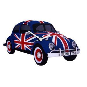 英国雑貨 イギリス Lark Rise Designs 壁掛け時計 UNION JACK・ビートル LRC13 送料無料|bic-shop