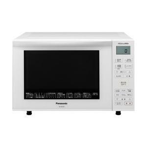パナソニック Panasonic 電子レンジ 簡易スチームオーブンレンジ 23L ホワイト エレック...
