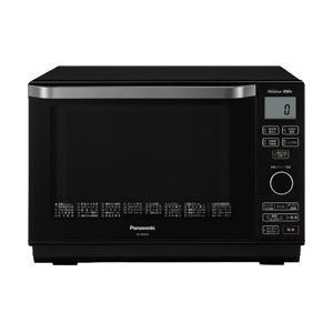 パナソニック Panasonic 電子レンジ 簡易スチームオーブンレンジ 26L ブラック エレック NE-MS265-K|bic-shop