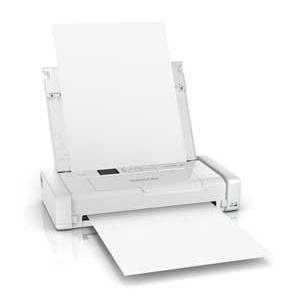 エプソン EPSON A4対応 インクジェット モバイルプリンタ ホワイト PX-S05W|bic-shop