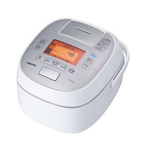 東芝 TOSHIBA 真空圧力 IHジャー 炊飯器 5.5合炊き グランホワイト 圧力+真空 合わせ炊き RC-10VSM-W|bic-shop