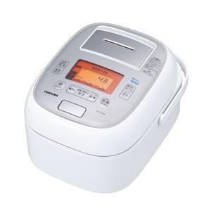 東芝 TOSHIBA 真空圧力 IHジャー 炊飯器 5.5合炊き グランホワイト 圧力+真空 合わせ炊き RC-10VXM-W|bic-shop
