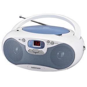 ラジオ  CDラジオ オーディオ オーム電機 OHM 07-8849 CDラジオ ブルー RCR-530N-A 送料無料 bic-shop