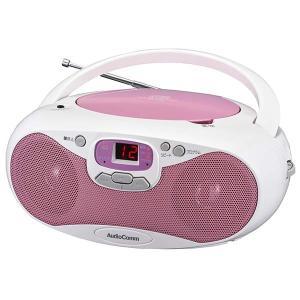 ラジオ  CDラジオ オーディオ オーム電機 OHM 07-8848 CDラジオ ピンク RCR-530N-P 送料無料 bic-shop
