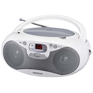 ラジオ  CDラジオ オーディオ オーム電機 OHM 07-8847 CDラジオ シルバー RCR-530N-S 送料無料 bic-shop