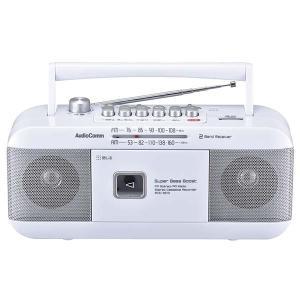 ラジカセ ラジオ オーム電機 OHM 07-8379 AM/FM ステレオラジオカセットレコーダー RCS-351Z 送料無料  bic-shop
