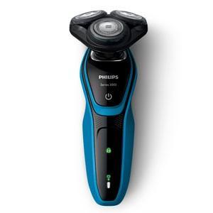 フィリップス PHILIPS メンズシェーバー 電気シェーバー アクアテックブルー/ブラック 5000シリーズ ウェット&ドライ S5050/05|bic-shop
