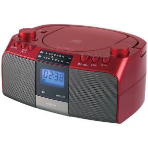コイズミ ワイドFM対応CDラジオ SAD-4705-R 送料無料|bic-shop