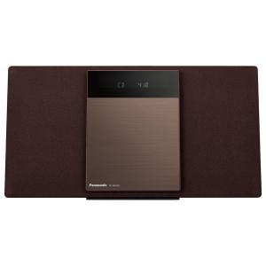 ミニコンポ CDコンポ パナソニック Panasonic Bluetooth対応 コンパクトステレオシステム SC-HC410-T 送料無料|bic-shop