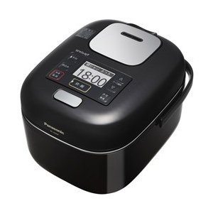 パナソニック Panasonic 可変圧力 IHジャー 炊飯器 3合炊き シャインブラック Wおどり炊き SR-JW058-KK|bic-shop