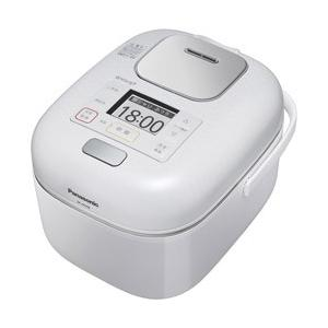 パナソニック Panasonic 可変圧力 IHジャー 炊飯器 3合炊き 豊穣ホワイト Wおどり炊き SR-JW058-W|bic-shop