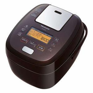 パナソニック Panasonic 可変圧力 IHジャー 炊飯器 5.5合炊き ブラウン おどり炊き SR-PA108-T|bic-shop