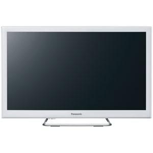 パナソニック Panasonic 24V型地上・BS・110度CSデジタル ハイビジョンLED液晶テレビ   ホワイト (別売USB HDD録画対応) VIERA TH-24ES500-W|bic-shop