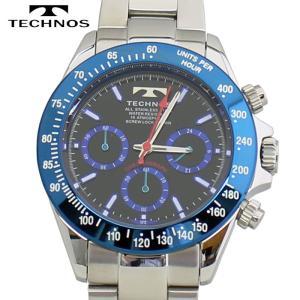 TECHNOS テクノス クロノグラフ 腕時計 メンズウォッチ メンズ腕時計 TSM401SN|bic-shop