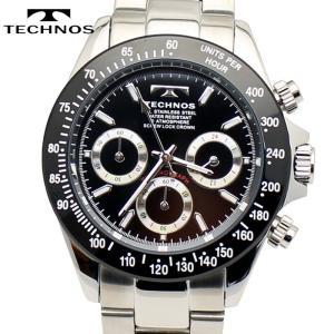 TECHNOS テクノス クロノグラフ 腕時計 メンズウォッチ メンズ腕時計 TSM401TB|bic-shop