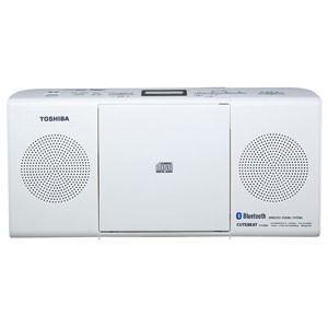 東芝 TOSHIBA Bluetooth対応 CDラジオ ホワイト TY-CW26-W|bic-shop