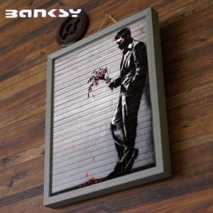 アート バンクシー Banksy Wither IBA-61734 絵画 アートフレーム 風刺画 ス...