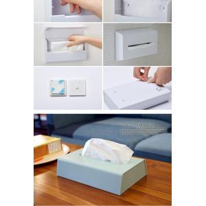 収納 ティッシュケースカバー ティッシュケースウォール Tissue case WALL イデアコ ideaco 壁掛け シンプル オシャレ 北欧 木目 ティッシュボックス ホルダー bicasa 06