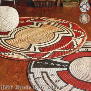 Bat Circle rug 200cm border=1