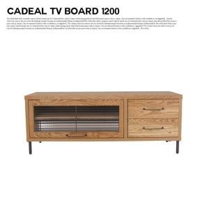 アデペシュ a depeche カデル テレビボード 1200 cadeal TV board 1200 CDL-TVB-1200 収納家具 オーク無垢材 日本製 アイアン テレビ台|bicasa