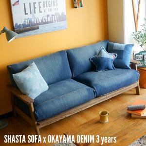SHASTA SOFA × OKAYAMA DENIM 3years