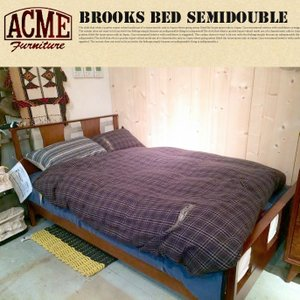 BROOKS BED(ブルックスベッド) SEMIDOUBLE(セミダブルサイズ) bicasa