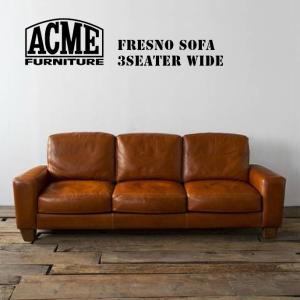 アクメファニチャー ACME Furniture  FRESNOSOFA 3P WIDE SEATER  インテリア 家具 ソファ 革|bicasa
