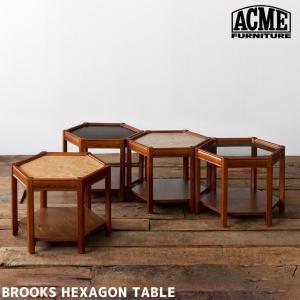 サイドテーブル アクメ ファニチャー ACME Furniture ブルックス ヘキサゴン テーブル BROOKS HEXAGON TABLE   ベッドサイドテーブル|bicasa