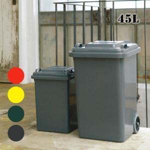 ゴミ箱ダルトンDULTONプラスチックトラッシュカン45リットルPLASTIC TRASH CAN 45L100-146トラッシュカン ごみ入れ 蓋付き 屋外 ダストボックス bicasa