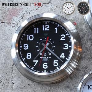 壁掛け時計 ダルトン DULTON ウォールクロック ブリストル S-30 WALL CLOCK BRISTOL S-30 K725-925 ウォールクロック 時計 かけ時計 電池時計 bicasa