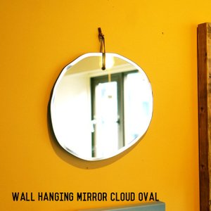 ミラー ダルトン DULTON ウォール ハンギング ミラー クラウド オーバル Wall hanging mirror Cloud ovalH19-0033 鏡 壁掛け ラウンド 楕円型 bicasa