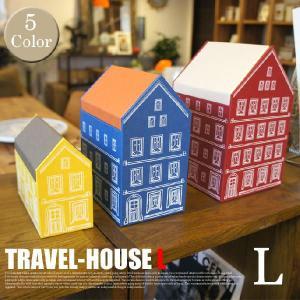 TRAVEL-HOUSE L PAPER STRAGE COMPANY 全5色(レッド/アイボリー,ブルー/オレンジ,イエロー/カーキ,グリーン/ベージュ,ブラウン/ライトグリーン)