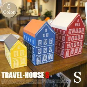 TRAVEL-HOUSE S PAPER STRAGE COMPANY 全5色(レッド/アイボリー,ブルー/オレンジ,イエロー/カーキ,グリーン/ベージュ,ブラウン/ライトグリーン)
