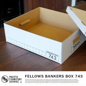 FELLOWS BANKERS BOX  743 BOX