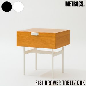 F181 DRAWER TABLE OAK border=1