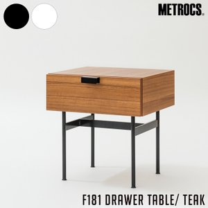 F181 DRAWER TABLE TEAK border=1