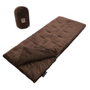 シュラフ ロゴス LOGOS 丸洗いやわらか あったかシュラフ・0 72683061 封筒型 寝袋|bicasa