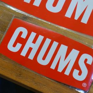 Sticker CHUMS Logo Small ステッカー border=1