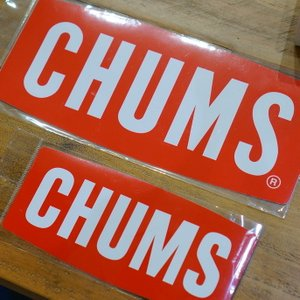 Sticker CHUMS Logo Medium ステッカー border=1