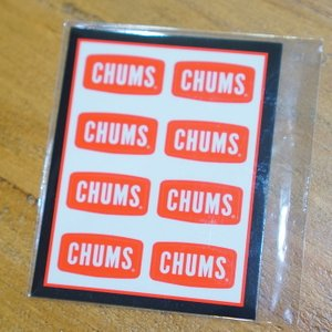 Sticker CHUMS Logo Mini ステッカー border=1