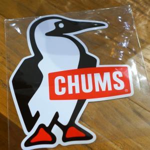 CHUMS Sticker Big Booby Bird ステッカー border=1