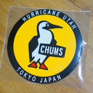 Sticker Round Booby Bird ステッカー border=1