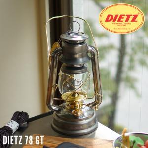 ランタン ハリケーンランタン DIETZ 78  デイツ78 クリア-GT L16130 ゴールドトリム bicasa