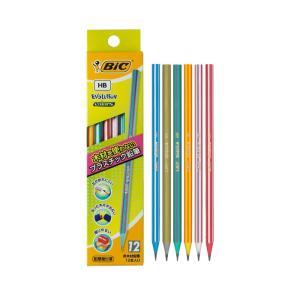 非木材鉛筆で折れにくい伝統のコンテブランドのHB鉛筆 エボリューション 鉛筆ストライプ HB 1ダー...