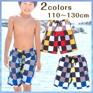 水着 サーフパンツ 子供用 男児 男の子 海水パンツ 海パン スイムウェア 海水浴 プール