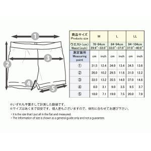 メンズ 水着用 インナー ショーツ 水泳用 男性用 スイムサポーター ブラック M/L/LL|bicolore|02