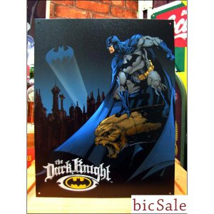 『アメリカンブリキ看板』闇夜のバットマン bicsale