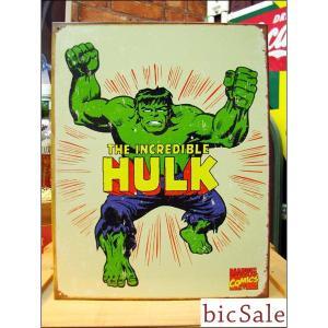 『アメリカンブリキ看板』HULK マーべルコミックス bicsale